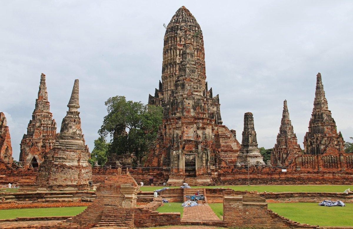 معبد چای واتانارام در تایلند