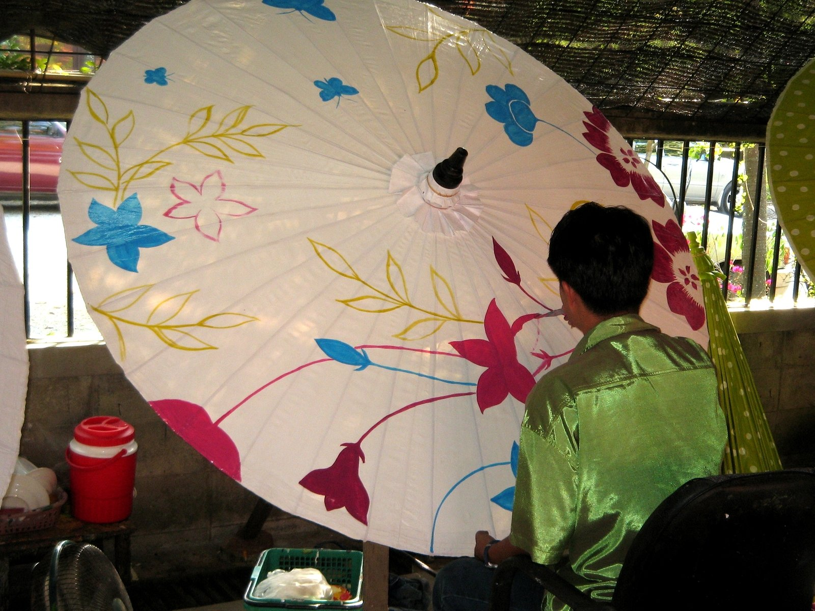 چتر سازی در تایلند