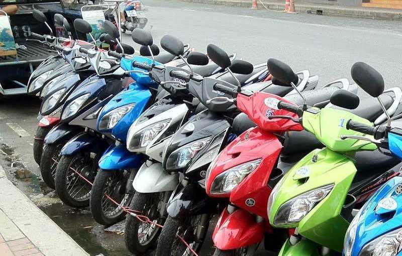 اجاره موتورسیکلت در پوکت